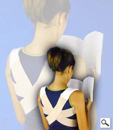 Espaldeira Postural Longa